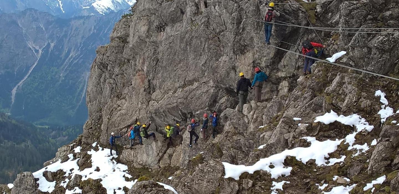 Bergtage 2015 im Kleinwalsertal